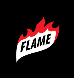 Fire logo vector