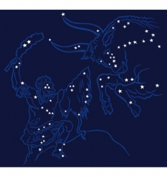 Battle of constellations vector