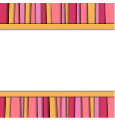 Abstract background colorful layer texture vector