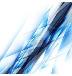 abstract blue background futuristic design vector image vector image
