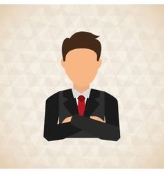 businessman concept design vector image