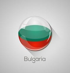 European flags set - bulgaria vector