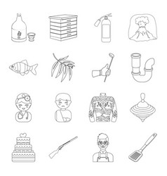 food sports lifeguard and other web icon in vector image vector image