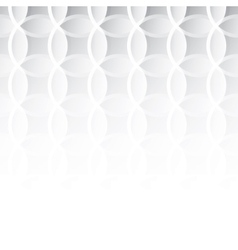 Seamless pattern for background of round vector image vector image