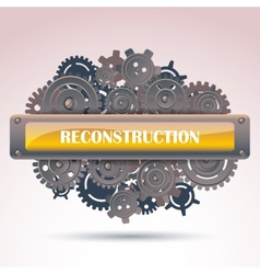 Reconstruction frame vector