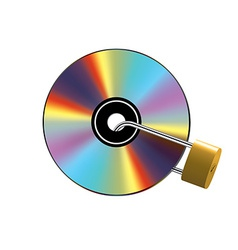 Locked cd vector
