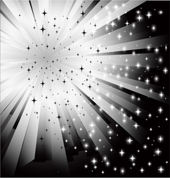 abstract black white background vector image vector image