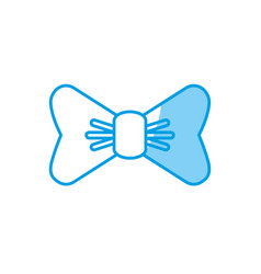 Bow tie icon vector