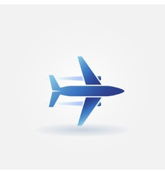 Plane takeoff logo vector