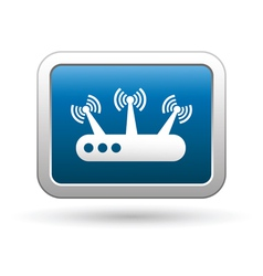 Router icon vector