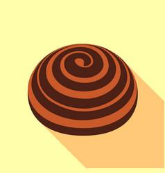 Bakery icon flat style vector