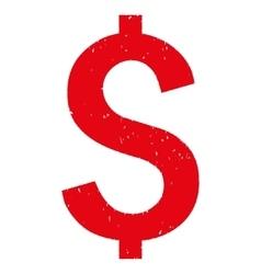 Dollar symbol grainy texture icon vector