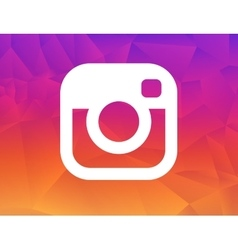 New instagram logo 2016 camera icon symbolic with vector