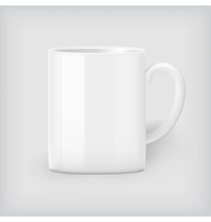 Coffee mug mock up vector