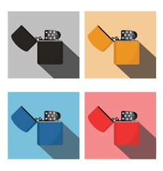 Lighters style vector