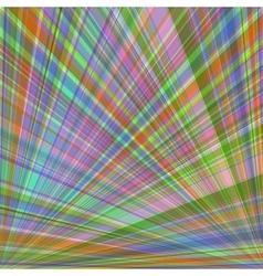 Abstract colorful background of radial rays vector