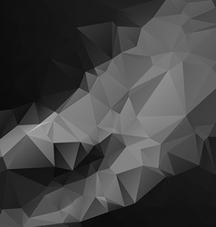 Abtract black geometrical background vector