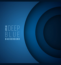 dark blue business 3d wallpaper abstract vector image vector image