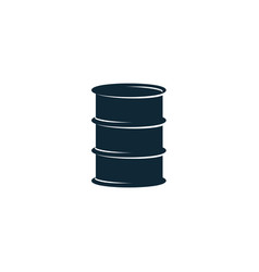 oil fuel barrel simple flat icon pictogram vector image