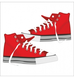 shoes vector image vector image
