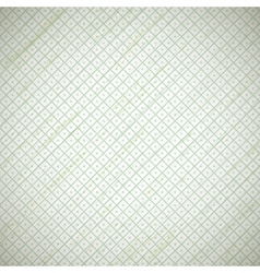 grunge vintage retro background with squares vector image