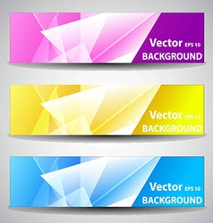 Website or banner background header vector