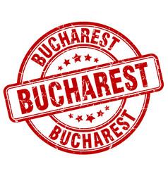 Bucharest stamp vector