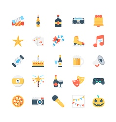Party and celebration icons 2 vector
