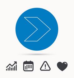 Next arrow icon forward sign vector