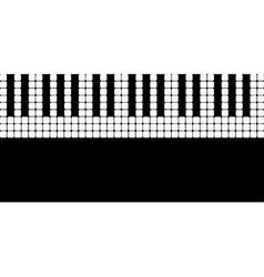 Piano roll vector