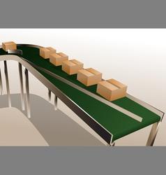 Conveyor belt vector