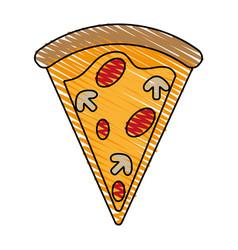 Delicious fast food icon imag vector