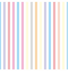 Seamless pastel stripes background or tile pattern vector