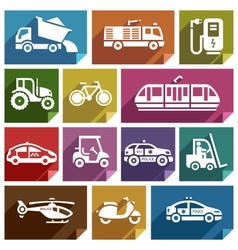 Transport flat icon-06 vector