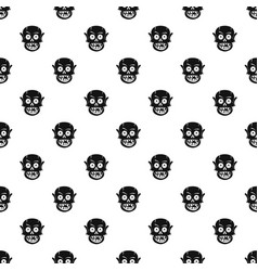 living dead pattern vector image