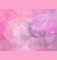 baby pink and violet color polygon background vector image