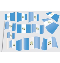 flag of Guatemala vector image vector image