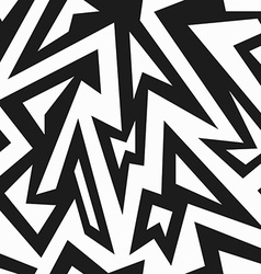 Monochrome african seamless pattern vector