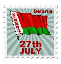National day of belarus vector
