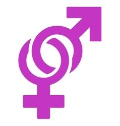 Sexual symbols icon vector