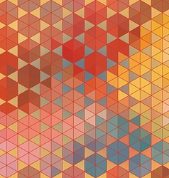 Geometric hexagon abstract background vector