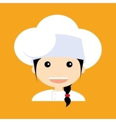 Cute chef vector