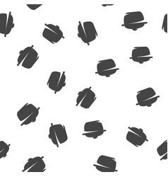 pan seamless pattern vector image