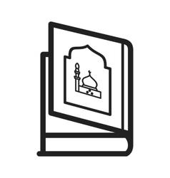 Religious book vector