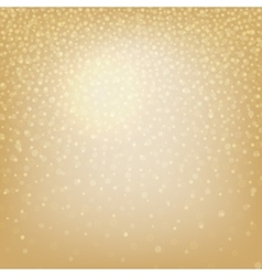 Christmas background with bokeh elements vector