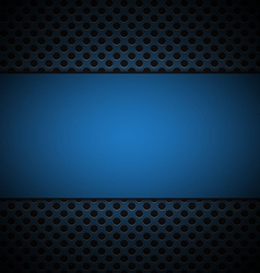 Blue grill texture background vector
