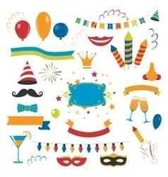 Holiday Celebration Set vector image