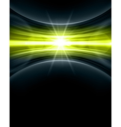 Abstract glow vector image vector image