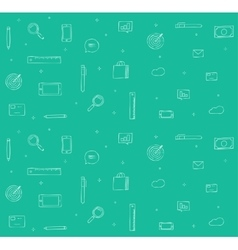 Doodle icons background for vector