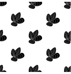 Mussels icon in black style isolated on white vector